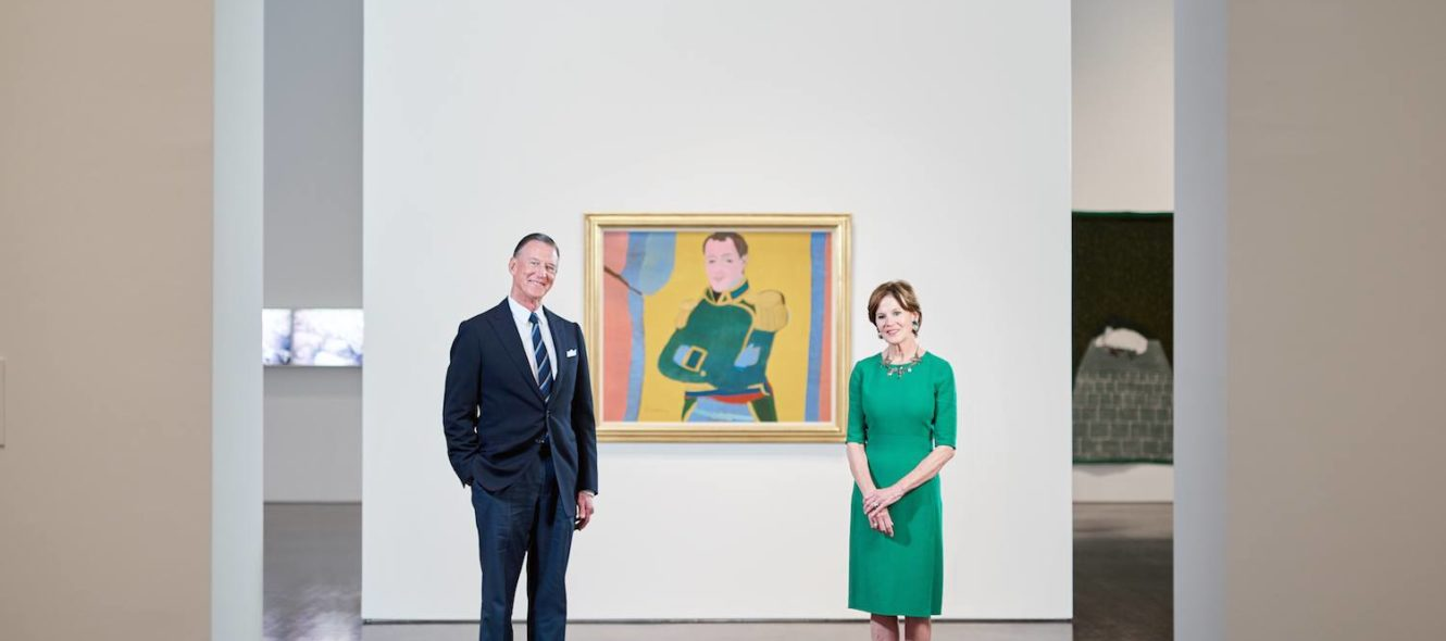 the art of giving Charles and judy Tate Blanton Museum of Art