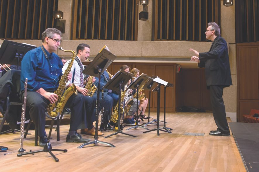 Jeff Helmer Butler School of Music Richard Rainwater fund