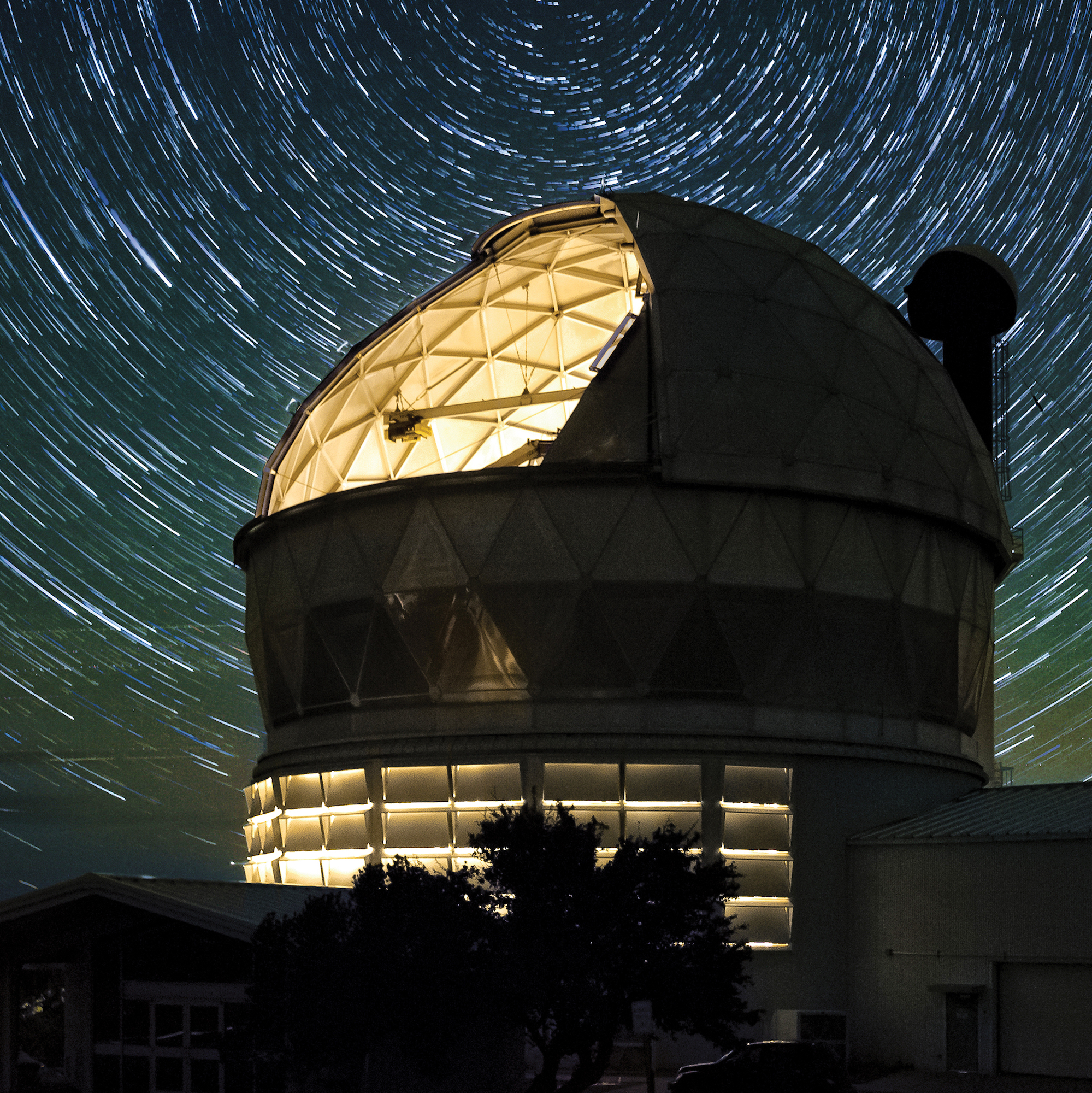 In the stars, McDonald observatory