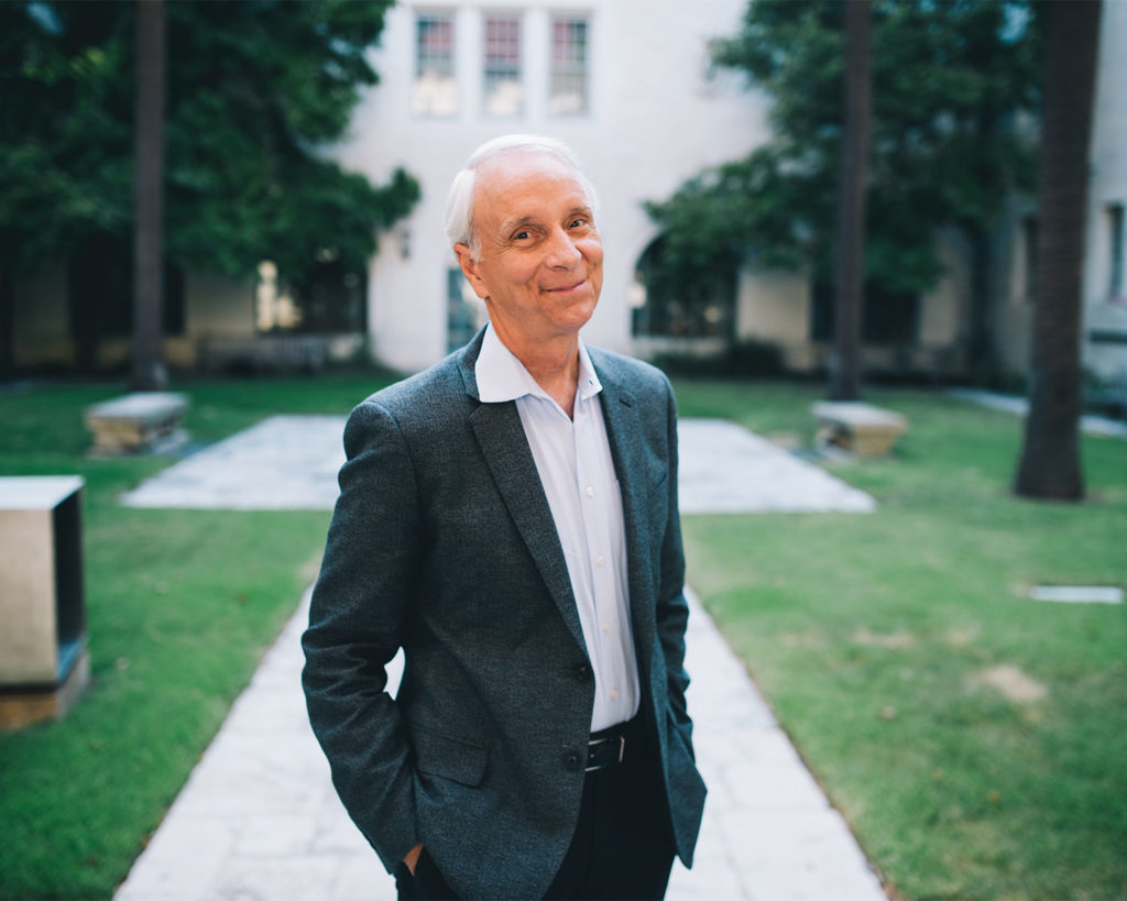 Larry Speck at UT Austin campus