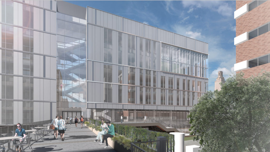 Bill Moore's unrestricted gift to UT will help construct the Energy Engineering Building.