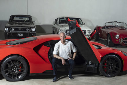 Gary Thomas is donating a portion of his car collection to benefit the Gary L. Thomas Energy Engineering Building